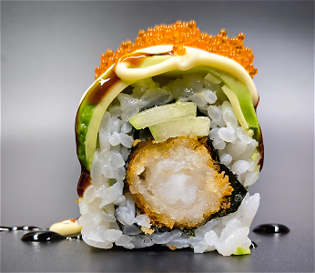 Foto Dragon roll  8 ST